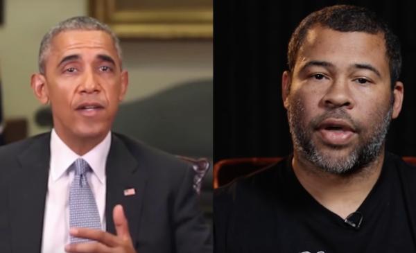 Barack Obama e Jordan Peele nel video di BuzzFeed sui deepfakes