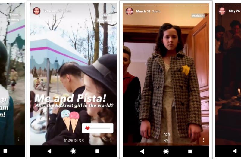 Stories di Instagram dal profilo eva.stories